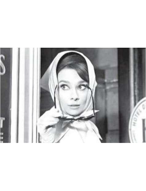 Audrey Hepburn Chusta - plakat