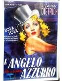 Błękitny Anioł Marlene Dietrich - plakat