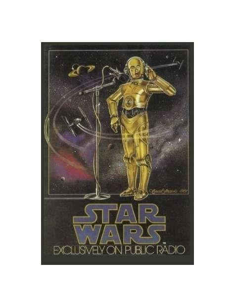 Star Wars Gwiezdne Wojny Radio Drama - plakat