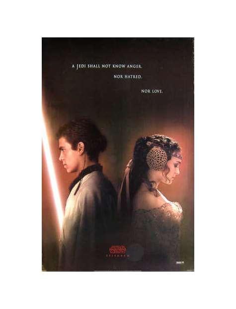 Star Wars Gwiezdne Wojny Atak Klonów - plakat