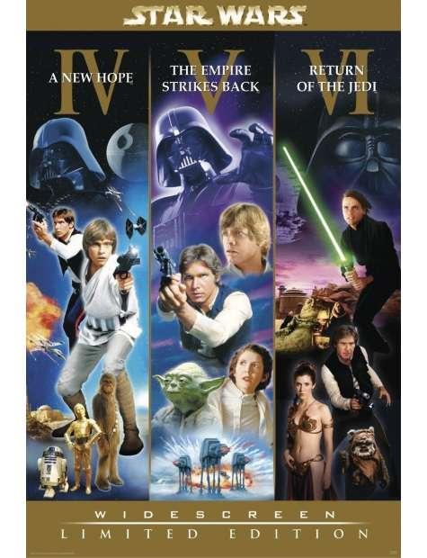 Star Wars Gwiezdne Wojny Widescreen Limited Edition - plakat