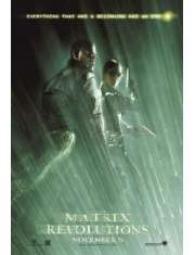 Matrix Rewolucje Morfeusz i Trinity - plakat