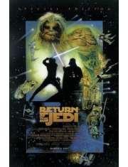Star Wars Gwiezdne Wojny Powrót Jedi - plakat