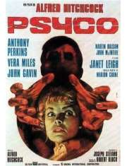 Psychoza Alfred Hitchcock - plakat