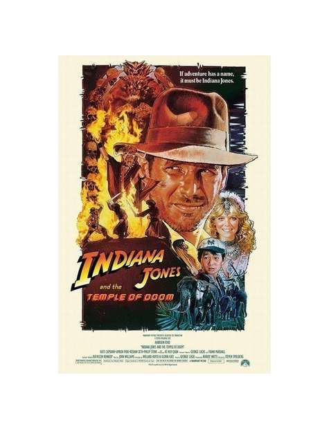 Indiana Jones i Świątynia Zagłady - plakat