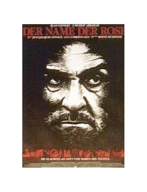Imię Róży Sean Connery - plakat