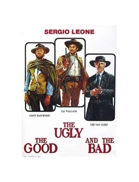 Dobry, zły i brzydki Sergio Leone - plakat