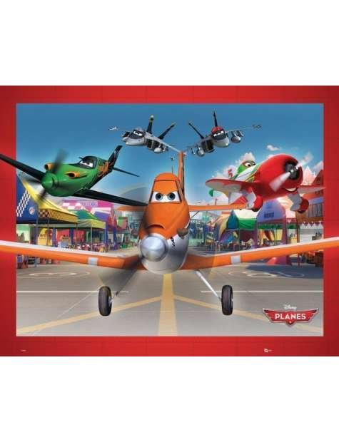 Samoloty na Lotnisku Planes - plakat