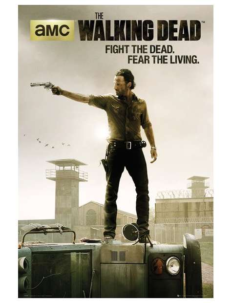The Walking Dead Fight the Dead, Fear the Living - plakat