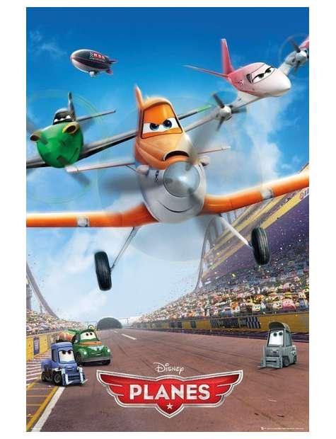 Samoloty Planes - plakat