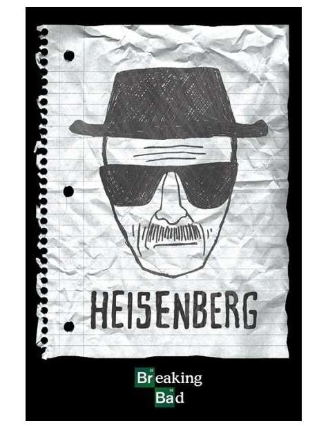 Breaking Bad Heisenberg Wanted - plakat