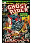 Ghost Rider retro - plakat