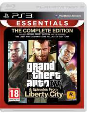 GTA 4 The Complete Edition Essentials PS3-19189