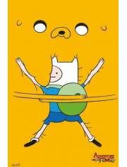 Pora na Przygodę Bro Hug. Adventure Time - plakat