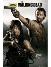 The Walking Dead Rick i Daryl - plakat