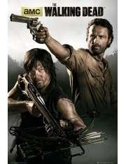The Walking Dead Rick i Daryl - plakat