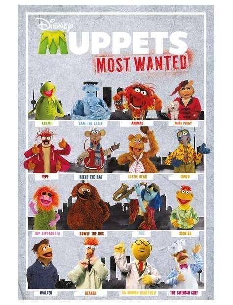 The Muppets 2 Most Wanted Kompilacja - plakat