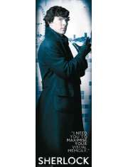 Sherlock I need You - plakat