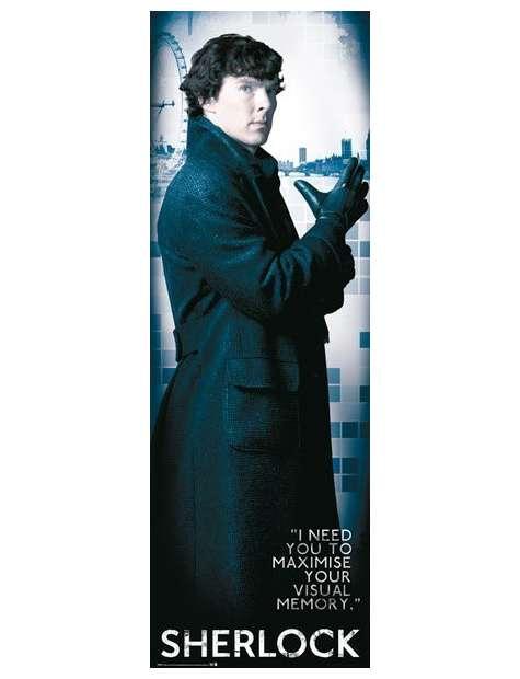 Sherlock I need You - plakat