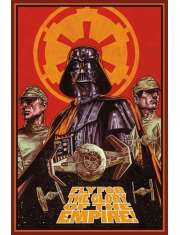 Star Wars Gwiezdne Wojny Fly For The Glory - plakat