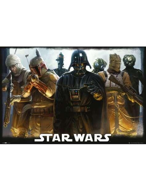 Star Wars Gwiezdne Wojny Łowcy Głów - plakat