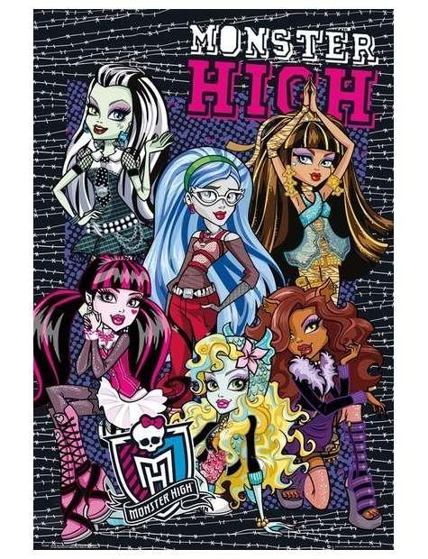 Monster High Upiorna Szkoła Kolce - plakat