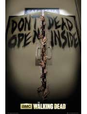 The Walking Dead Keep Out - plakat