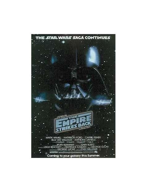 Gwiezdne Wojny Imperium Kontratakuje Vader - plakat