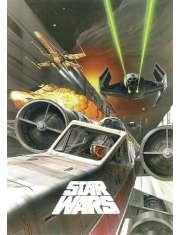 Star Wars Gwiezdne Wojny Bitwa nad Gwiazdą Śmierci - plakat
