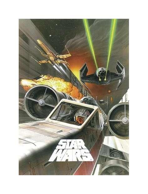 Gwiezdne Wojny Bitwa nad Gwiazdą Śmierci - plakat