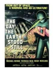 Dzień, w którym zatrzymała się Ziemia - plakat