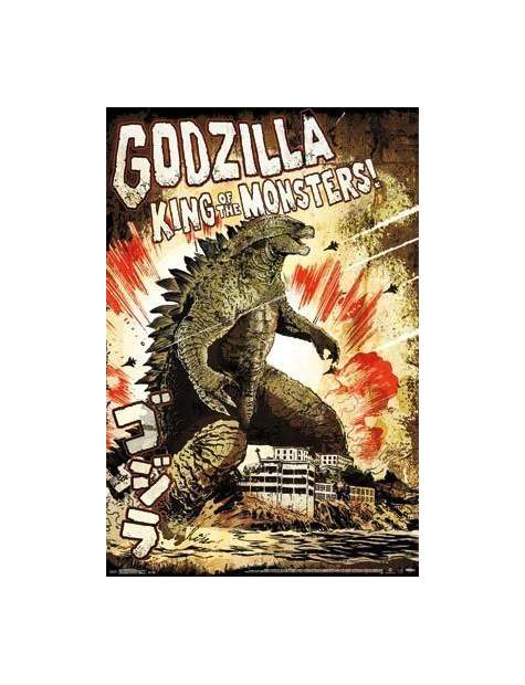 Godzilla King of the Monsters - plakat