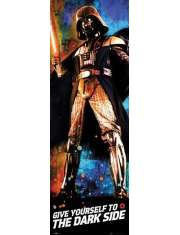 Star Wars Gwiezdne Wojny Vader Give yourself to the dark side - plakat