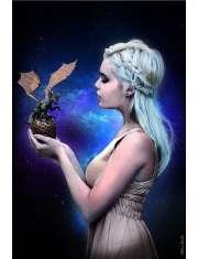 Królowa Smoków - plakat