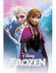 Frozen / Kraina Lodu - Anna i Elsa - plakat