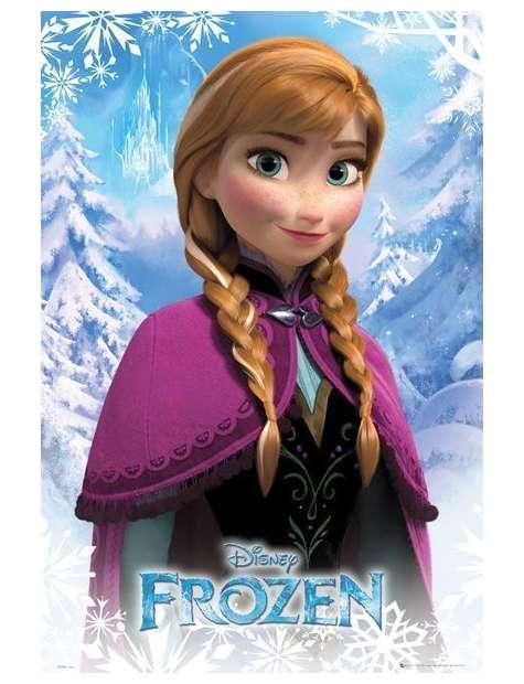 Frozen / Kraina Lodu - Anna - plakat