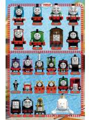 Tomek i Przyjaciele Bohaterowie - plakat