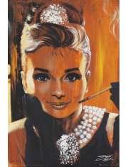 Audrey Hepburn Śniadanie u Tiffanego - plakat