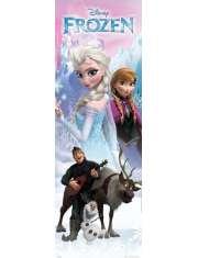 Kraina Lodu Frozen Anna i Elza - plakat