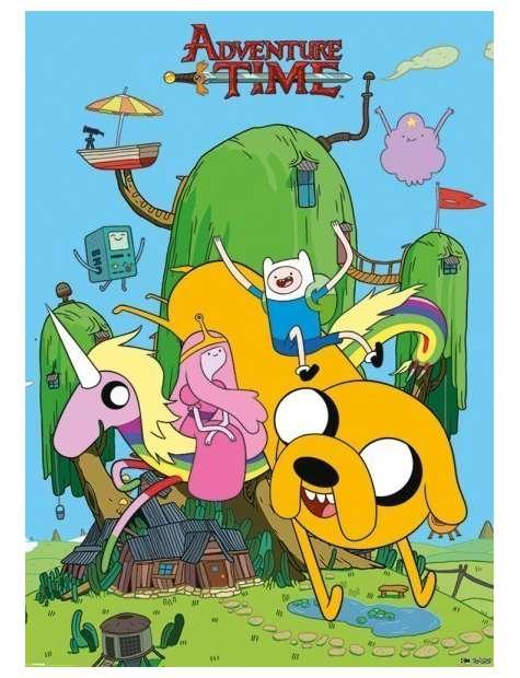 Pora na przygodę - Adventure Time - Dom - plakat
