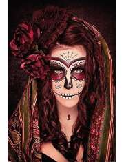 Day of the Dead Tatuaż - plakat