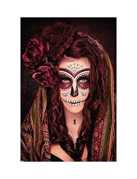 Day of the Dead Tatuaż - plakat