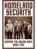 Star Trek Homeland Security - plakat