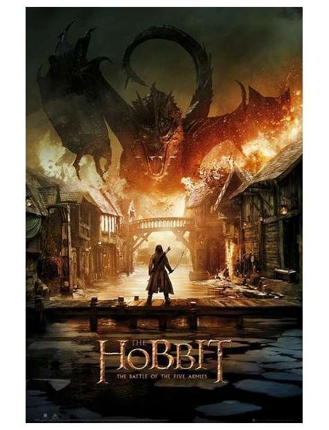 Hobbit Bitwa Pięciu Armii - plakat