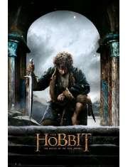 The Hobbit Bitwa Pięciu Armii Bilbo - plakat
