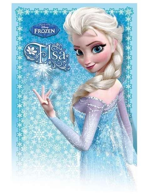 Kraina Lodu Frozen Elsa - plakat