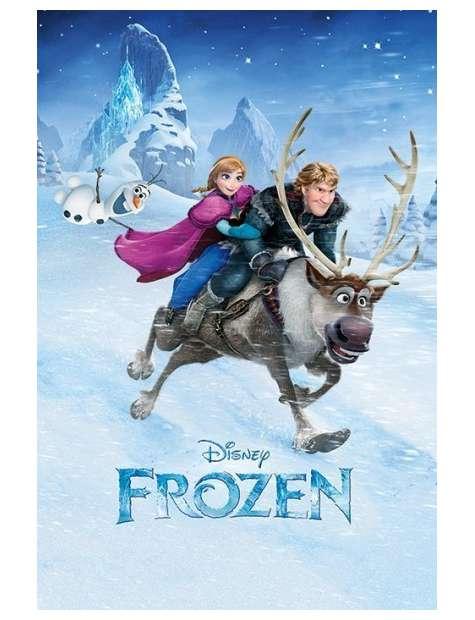Kraina Lodu Frozen Przejażdżka - plakat