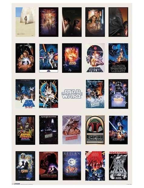 Star Wars Gwiezdne Wojny Kolekcja Okładek - plakat