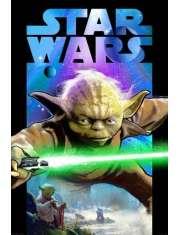 Star Wars Gwiezdne Wojny Yoda Medytacja - plakat