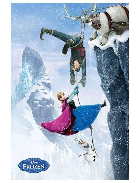Frozen Kraina Lodu Przepaść - plakat